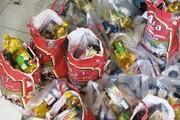 توزیع بسته حمایتی در بین خانوارهای محروم تهران توسط فرهنگسرای تعاون