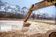 مسیر ارتباطی ۴۰ روستا در بشاگرد قطع شد