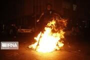 مصدوم شدن ۶۲ نفر در چهارشنبه آخر سال آذربایجانشرقی