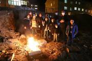 تصویر | چهارشنبهسوری در همدان