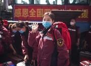 تصاویر | حال و هوای کادر پزشکی چین پس از شکست کرونا