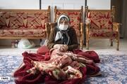 تصاویر پیرترین کرونایی کشور که بر بیماری غلبه کرد