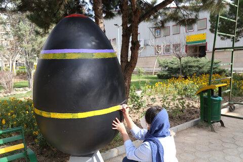 جشنواره تخم مرغ های رنگی منطقه۱۳