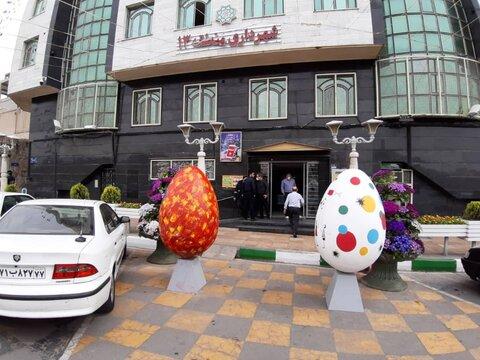 جشنواره تخم مرغ رنگی منطقه۱۳