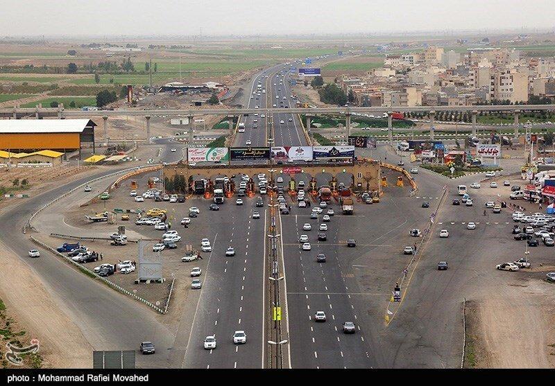 عوارضی تهران - قم
