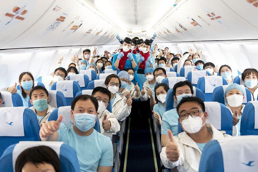 پزشکان چینی