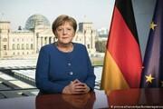 تصاویر | صدراعظم آلمان در حال خرید از سوپرمارکت