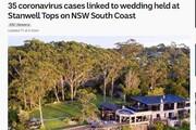 ۳۱ نفر در جشن عروسی به کرونا مبتلا شدند