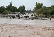 هشدار امام جمعه جازموریان | زهکلوت زیر آب رفت