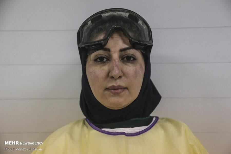 کرونا - پزشک ایرانی