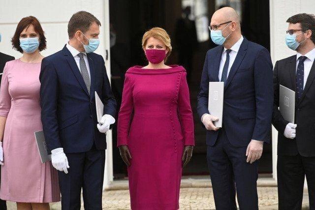 تصاویرماسک ست شده با لباس خانم رئیس جمهور   تصاویر