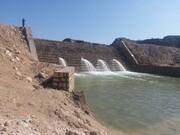 سیلاب ۵۰۰ هزار متر مکعب آب در سازههای آبخیزداری کنگان ذخیره کرد