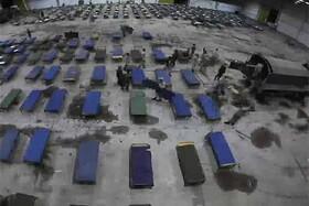 فیلم | آمادهسازی نقاهتگاه بیماران کرونا توسط ارتش