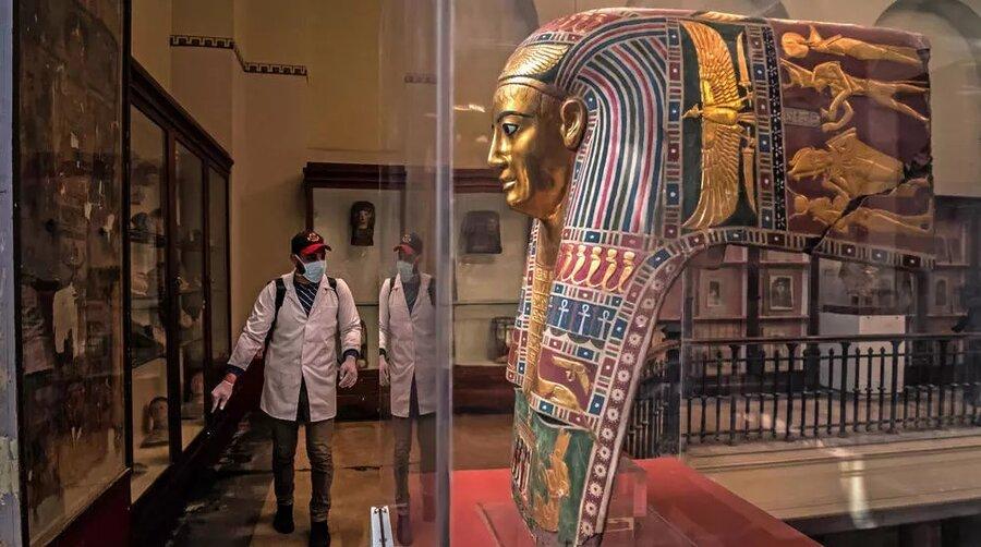 ضدعفونی موزه قاهره