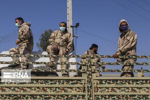 تصاویر عملیات بیولوژیک و رزمایش یگان های جنگ نوین در خوزستان