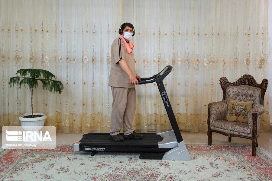 ورزش کرونا اصفهان