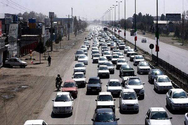 تردد جاده ای