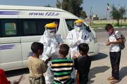 آموزش مقابله با کرونا به کودکان کار اندیمشک