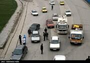 حمله به پلیس حین جلوگیری از تردد یک خودرو غیربومی