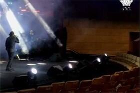 فیلم | کنسرت نعمتاللهی برای صندلیهای خالی