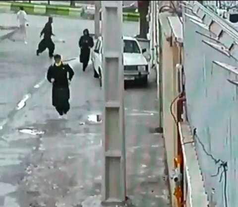 ویدئوی واضحتر از فرار زندانیان از زندان کردستان