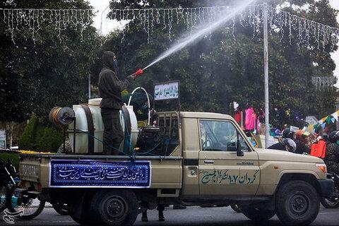 رزمایش دفاع بیولوژیک در اصفهان