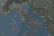 آخرین وضعیت آسمان ایران و جهان | ترافیک سنگین در آمریکا؛ وضعیت پروازها در ایران را ببینید
