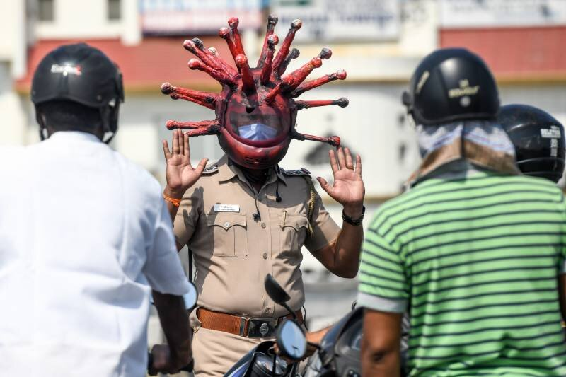کرونا/ پلیس هند