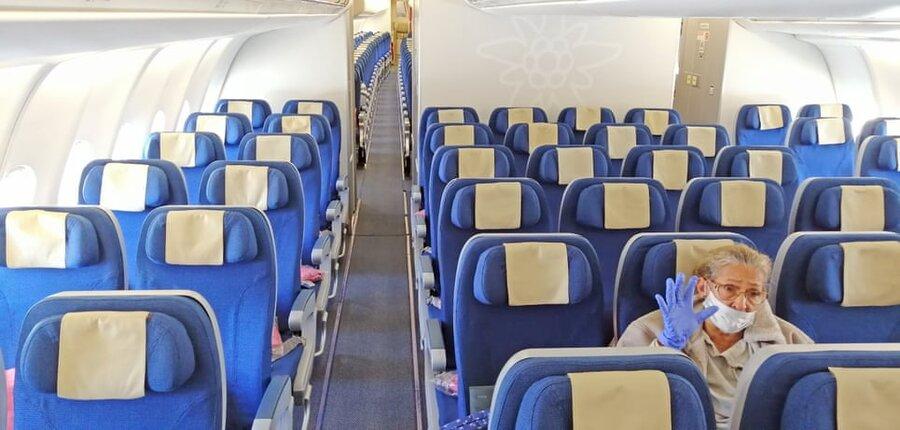 زوریخ/ سوئیس. تنها سرنشین آخرین پرواز سوئیس به کوبا