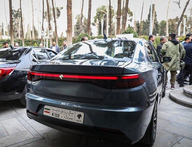 خودرو جدید ایران خودرو