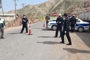 استقرار ۸۰ تیم پلیس در ورودی و خروجی شهرهای گلستان