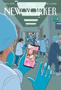 جلد متفاوت مجله نیویورکر | ستایش کادر پزشکی مقابله با کرونا