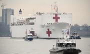 عکس روز | کشتی نظامی بیمارستانی برای کرونا