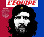طرح جذاب روزنامه فرانسوی؛ مسی، چه گوارای بارسلونا