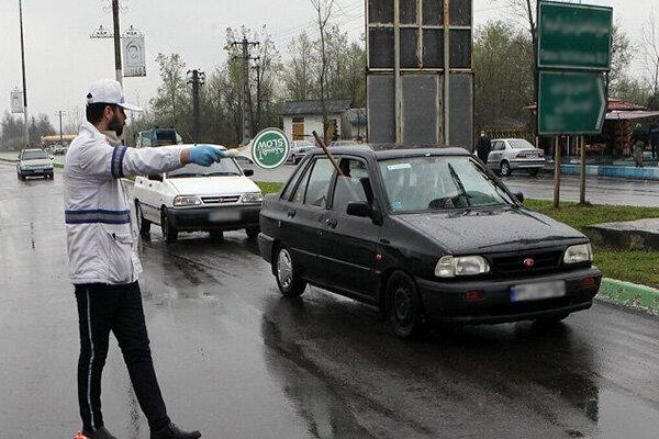 محدودیت تردد خودروها