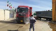 ورود کامیونهای صادراتی به قصرشیرین از مسیر کمربندی مجاز است