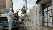 عملیات ضدعفونی معابر شهری یزد آغاز شد