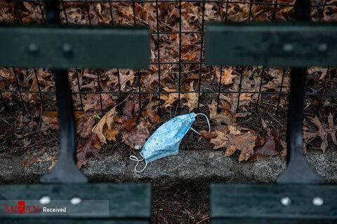 تصاویر شیوع کرونا در آمریکا