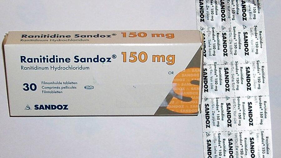 ماجرای جمع آوری داروی رانیتیدین از بازار آمریکا