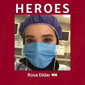 توئیت باشگاه رم درباره دختر ایرانی متخصص اورژانس