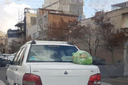 حمل زباله روی خودرو پدیدهای زشت که باید جلوی آن گرفته شود