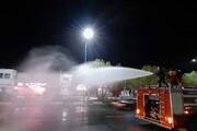جنگ مهپاشهای آتشنشانی تهران با کرونا