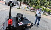 کمک پلیس آهنی به مهار کرونا | روبوکاپ واقعی را ببینید