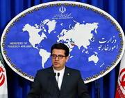واکنش موسوی به ادعای پمپئو مبنی بر دست داشتن ایران در ترور یک نفر در ترکیه