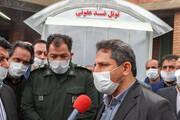 راهاندازی تونل ضدعفونی در سازمانهای شهرداری تبریز