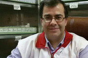 نخستین پزشک شهید مدافع سلامت کاشان در جوار شهدای مدافع حرم آرام گرفت