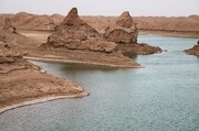 تصویر | جلوهگری دریاچه شهداد در کویر