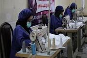تولید روزانه ۶ هزار ماسک در شهرستان مهران