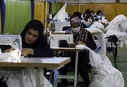 تولید ماسک؛ سهم زنان سرپرست خانوار در مبارزه با کرونا