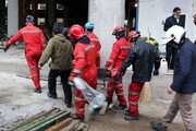 سقوط مرگبار نگهبان کارگاه ساختمانی از ارتفاع ۲۰ متری